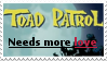 My stamps: Toad Patrol needs more love by ShinyPteranodon