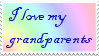 My stamps: I love my grandparents by ShinyPteranodon