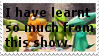 My stamps: I have learnt so much from DT by ShinyPteranodon