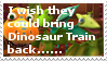 My stamps - I wish they could bring DT back by ShinyPteranodon
