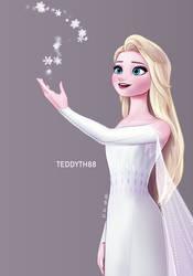 Magic Kingdom Elsa by teddyth88