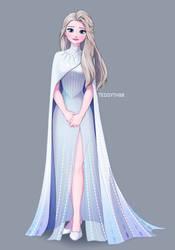Elsa concept art by teddyth88