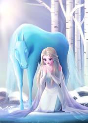 Elsa and Nokk by teddyth88