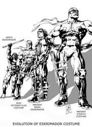 EVOLUTION OF ESKRIMADOR by ayk66
