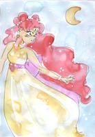 SLA: Watercolor Princess by caleigh