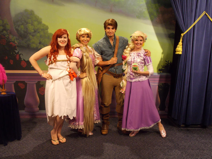 Rapunzel Cosplay at Disney World by caleigh