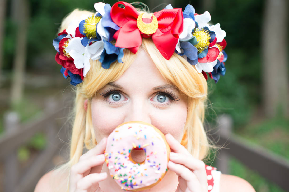 Eating Donuts by Daylight by caleigh
