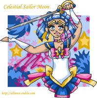 OLD: Celestial Sailor Moon by caleigh