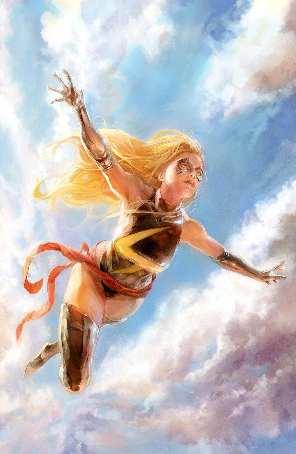 Ms Marvel - Xermanicob by Xermanico