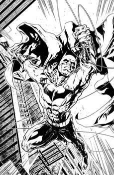 Batman Pin-up sample