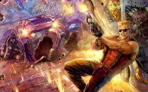 Duke Nukem Remake Cover by Xermanico