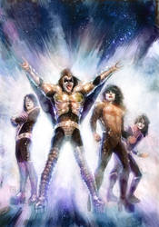 Kiss #7 cover by Xermanico