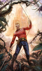Flash Gordon 80th Aniversary tribute by Xermanico