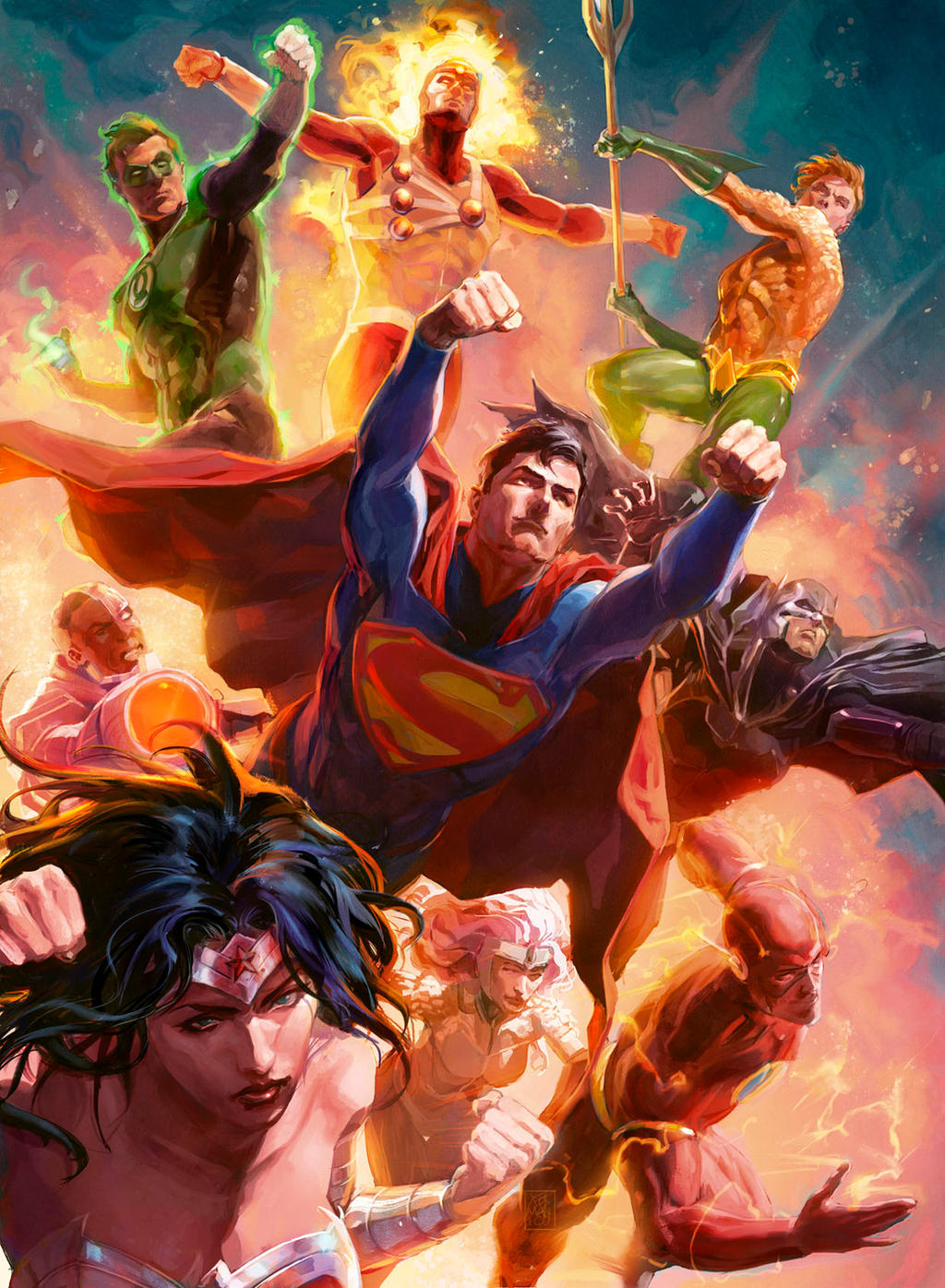 Dc Comics Fans : Justice league trading cards by xermanico on deviantart