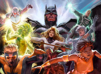 Justice League International - New 52