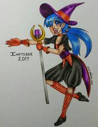 Day 29 - Idol Witch  by shyninjaneko