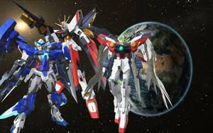 Favorite Gundam in Gundam Breaker 3 by Redchampiontrainer01