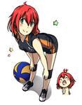 Shizuka Minami old Haikyuu!!!(OC)