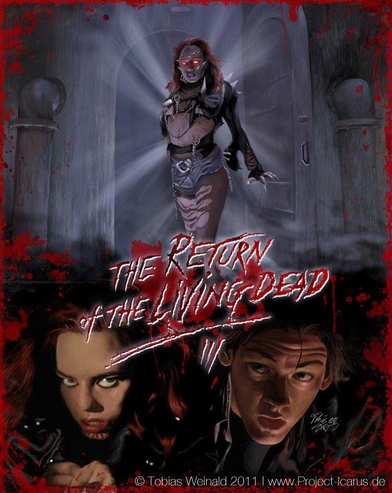 Return of the living dead 3 artwork 1 1 by tobiasweinald on deviantart