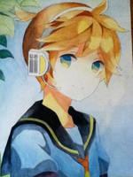 Len Vocaloid by 3lotaku