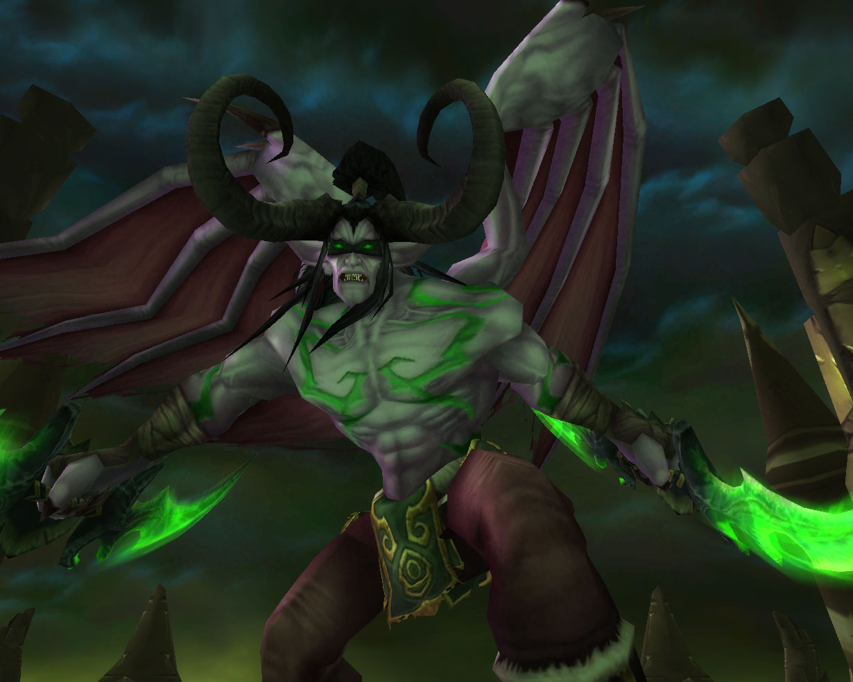 how to get to illidan stormrage