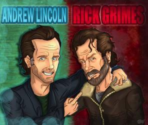 Happy birthday Andrew Lincoln! by TheWalkerPrieton