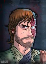 Dwight from The Walking Dead Comic by TheWalkerPrieton