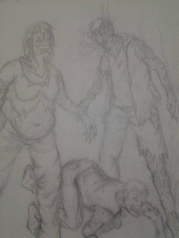 zombies by SnapCrackle420