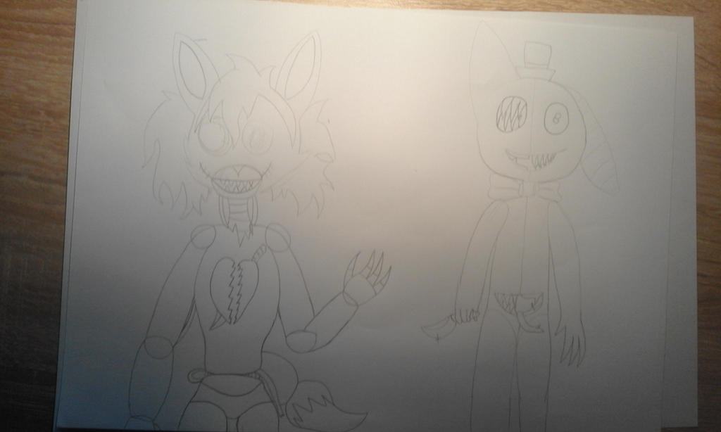 .:wip:. two very insane nightmares by Pink-Sanity
