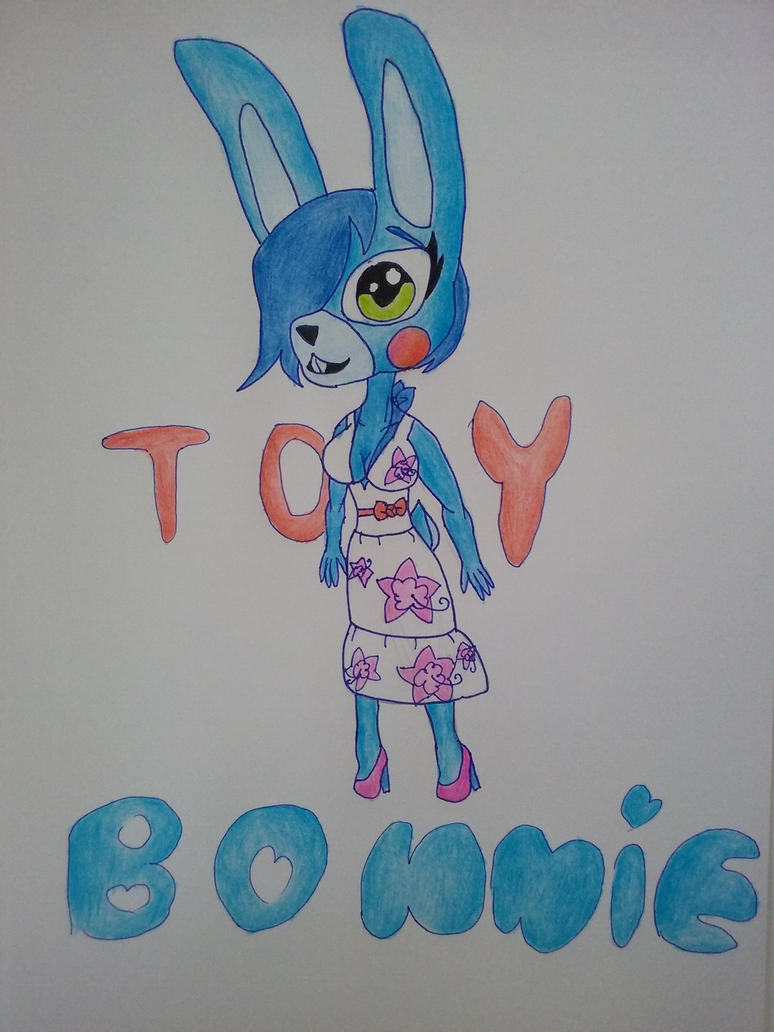 Summer toy bonnie by Pink-Sanity