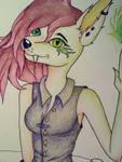 W.I.P Green Blaze by Pink-Sanity