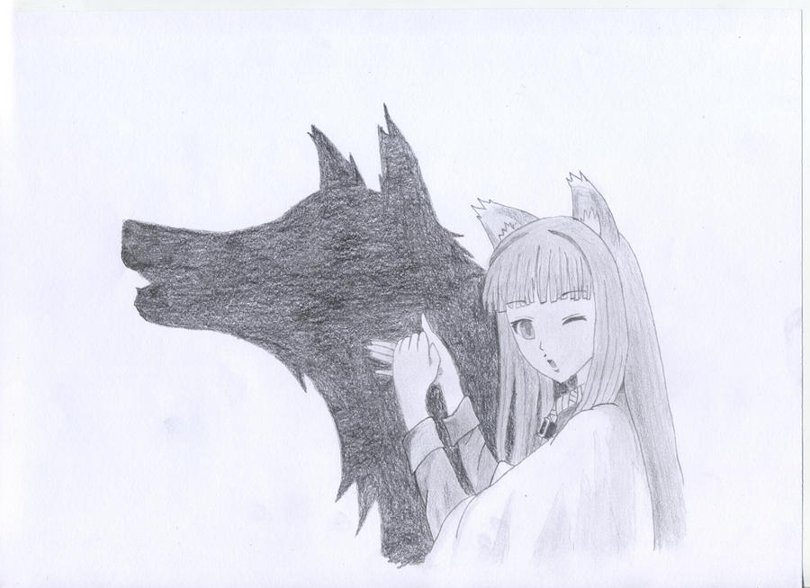 Holo the Trickster by morganiaworld