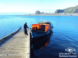 Embarcadero a Puntilla Tenglo by Bufoland