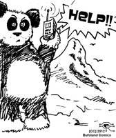 Panda Help by Bufoland