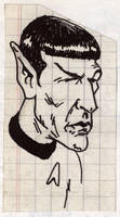 Spock by Bufoland
