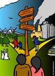 Ilustracion para Revista Ecos del Sur No 1