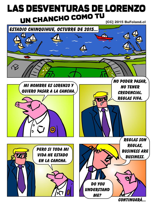 Las Desventuras de Lorenzo, un Chancho como tu 01 by Bufoland