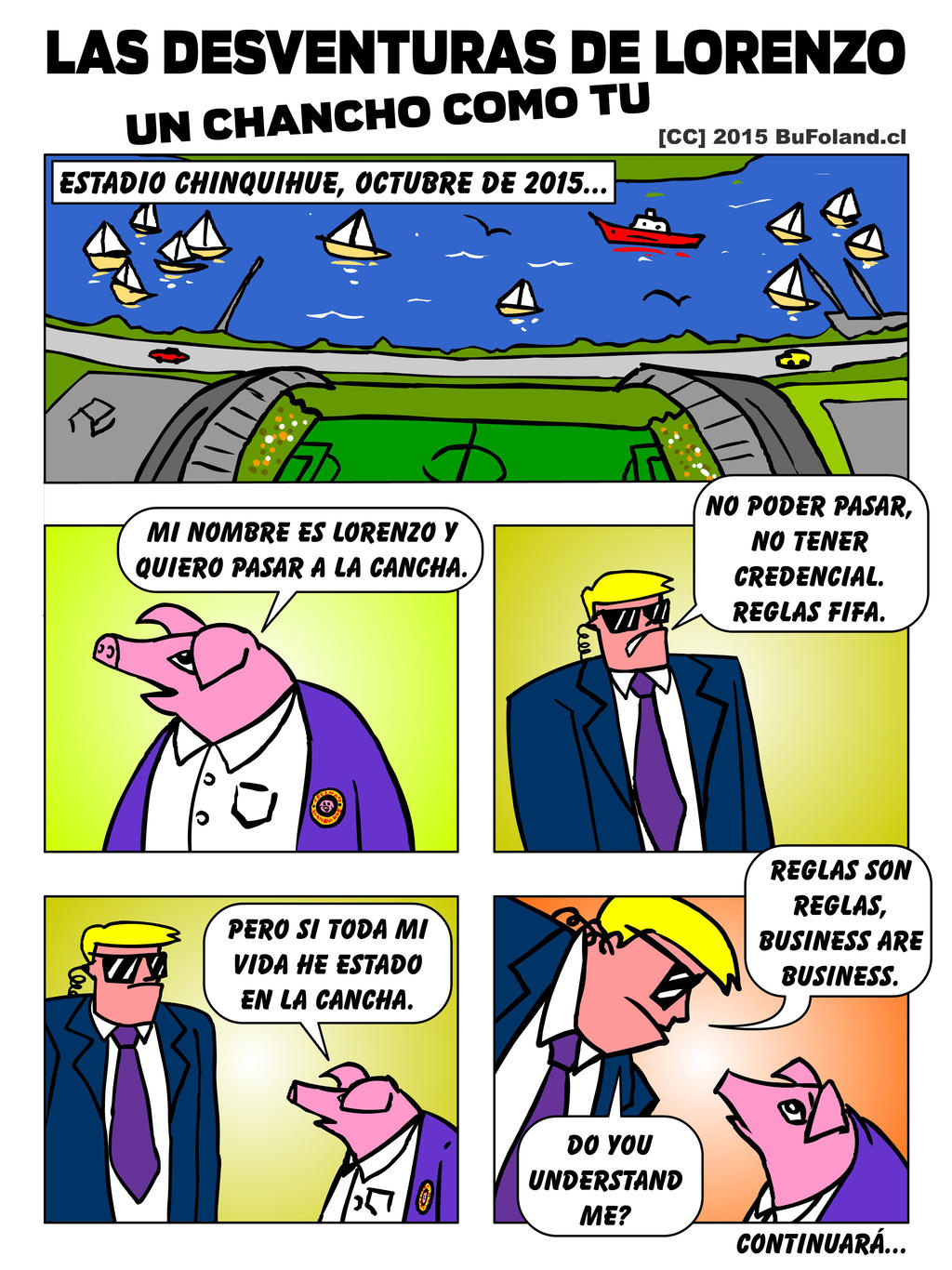 Las Desventuras de Lorenzo, un Chancho como tu 01