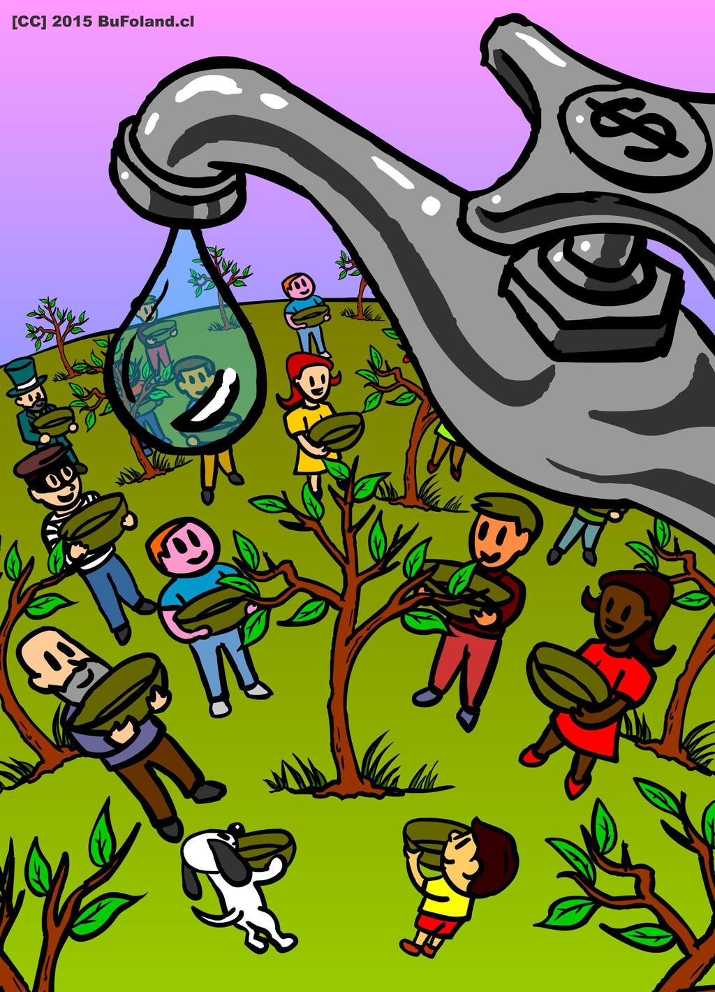 Ilustracion para la portada de Ecos del Sur No 3