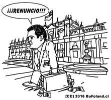 Cristian Riquelme: RENUNCIO!!! by Bufoland