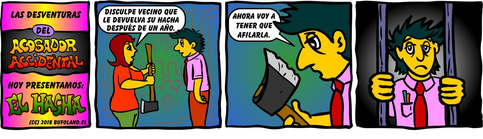 El Acosador Accidental 002 by Bufoland