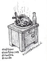 Roasted / Asado by Bufoland