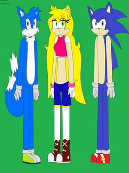 Maxie, Angelica and Sonic