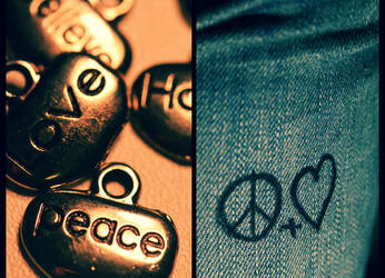 Peace and Love. by DemonOfThorns