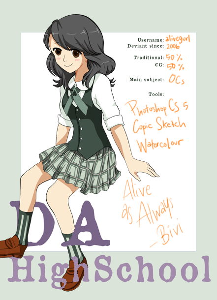 alivegurl's Profile Picture