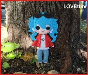 Hatsune Miku - Vocaloid Plush by LOVEttini