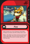 Super Smash Bros. TCG - Fox Card