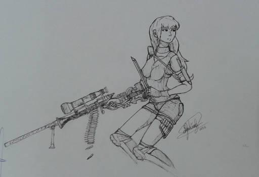 Barda Sniper de Elite