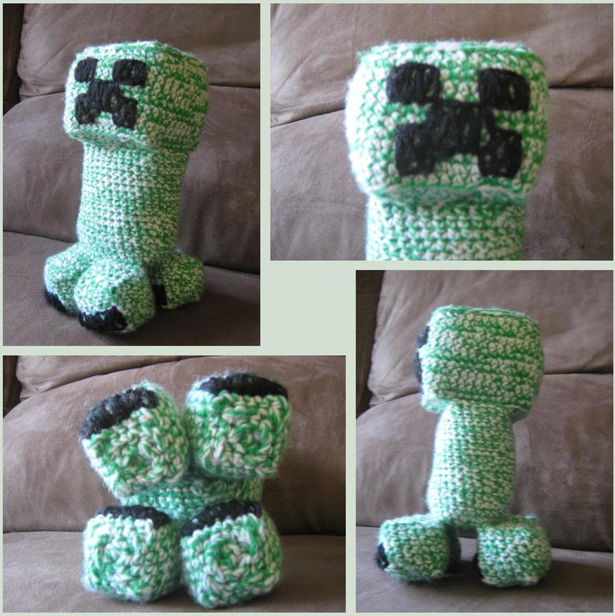 Minecraft Creeper Crochet by Bruce8331 on DeviantArt