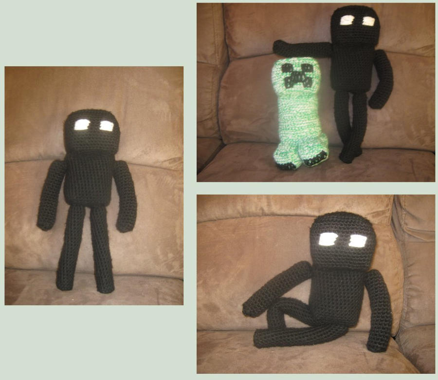 Minecraft Enderman Crochet by Bruce8331